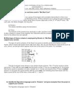 Assignment 1 - LITerature