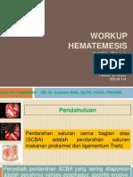Workup Hematemesis Melena