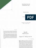 DeCerteau Practice Excerpts