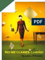 Isabel Franc - No Me Llames Carino
