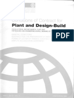FIDIC-SILVER Book-Plant Design Build
