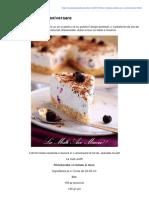 Lauraadamache.ro-un Cheesecake Si o Aniversare