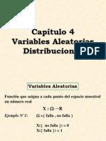 VARIABLES ALEATORIAS DISTRIBUCIONES