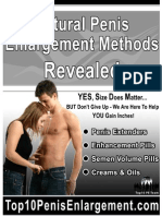 Natural Penis Enlargement Methods Revealed