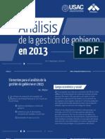 Informe de Gobierno 2013