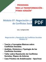 Principios Teoricos de Los Conflictos Sociales
