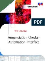 AnnuCheck Automation Interface