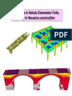 MEF Curs constructii