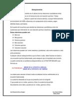 Consulta - Estequiometria