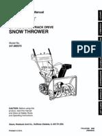 Sears Snowblower