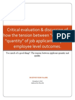 Managing Human Resources- Report