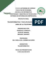 Telefonía - Teleinformática