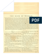 Douay Rheims Bible (The Book of Wisdom) with Haydock Commentary