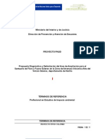 Términos de referencia profesional estudio de impacto ambiental