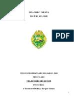 Apostila de Comunicação RESUMIDA CFSd 2013