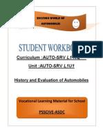 1 Book Automobile IX