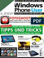 Windows Phone User Magazin November Dezember No 06 2013