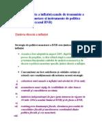 Ţintirea directă a inflaţiei;instrumente de politica monetara