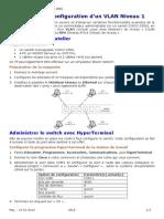 Commandes Pour Config Le Switch Cisco Catalyst 2950