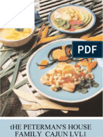 The Peterman's House Family Cajun Cookbook l1