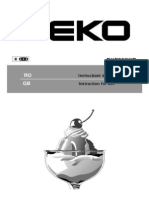 Manual Beko BKE386WD+