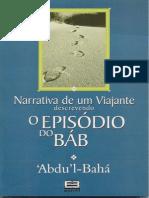 Narrativa de um Viajante Descrevendo o Episódio do Báb