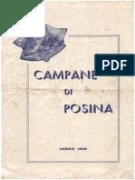 Campane Di Posina - Aprile 1960