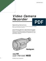 SONY CCD-3100E - Video Camera Recorder
