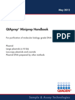 QIAprep Miniprep Handbook May 2012 En