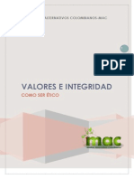 Valores e Integridad