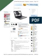 Acer 3820tg Specs