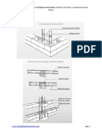 Uniones de y Tipos de Pegas Con Bloques Estructurales