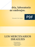 LOS MERCENARIOS ISRAELÍES