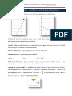 2ª Lista de Exercícios - Função Linear_2011