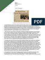 A Summary of the Kyoto Protocol