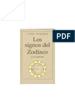 Los Signos Del Zodiaco y Su Caracter - Goodman Linda
