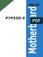 ASUS motherboard  manual e5138_P7P55D-E