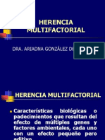 7. Herencia Multifactorial