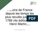 Histoire de France Henri Martin Tome 2