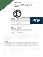 CGT-Confederación General Del Trabajo
