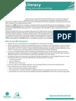 ACTIVITIES-Naplan Persuasive Sample