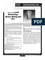Disinfecting/Shower Unit