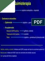 Quimioterapia en Cancer de Pulmon