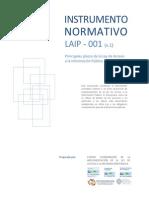 Instrumento Normativo No. 1