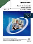 Manual de Instalacion KX-TDA100D