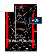 Tabli De Remondus Scarum Ventus 'The Master Witch Manual""