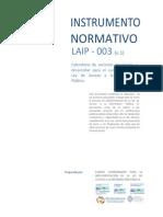 Instrumento Normativo No. 3