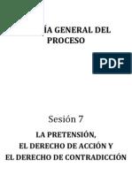 SESIÓN 7 Acción Pretensión y Derecho de Defensa