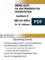 Lecture 4 Spr 2011 - Revised