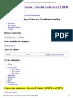 Cursos por concurso - Receita Federal (AFRFB e ATRFB) _ Estratégia Concursos